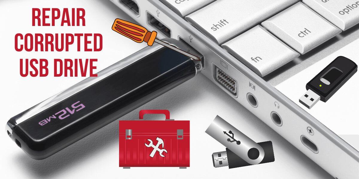 Repair USB Drive